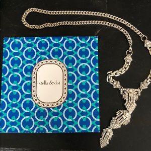 Stella & Dot Casablanca Necklace Crystal Pendant